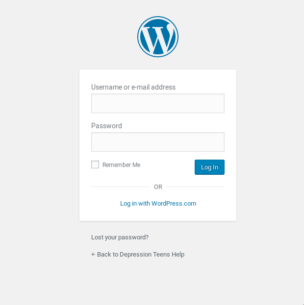 Impossible to login to WordPress website