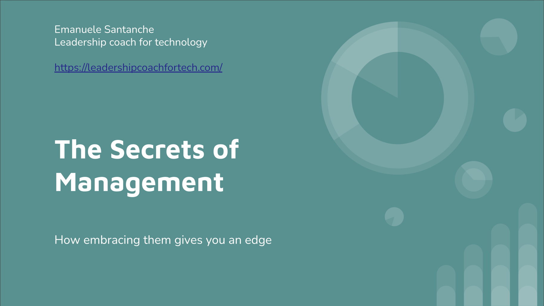 Get my free course ʻThe Secrets of Management'